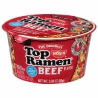 Nissin® Top Ramen® Beef Flavor Ramen Noodles - 3.28 oz