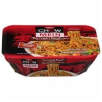 Nissen Chow Mein Teriyaki Beef Flavor Noodles