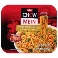 Nissin Chow Mein Teriyaki Chicken Flavor Noodles