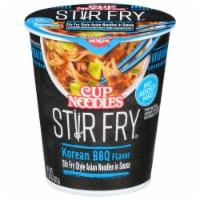 Nissin® Cup Noodles® Stir Fry Korean BBQ Flavor Asian Noodles - 2.89 oz