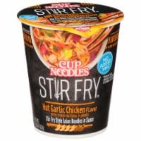 Nissin Cup Noodles Stir Fry Hot Garlic Chicken Flavor Asian Noodles - 2.93 oz
