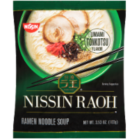 Nissin Raoh Umami Tonkotsu Flavor Ramen Noodle Soup