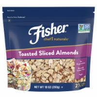 Fisher Chef's Naturals Toasted Sliced Almonds - 10 oz