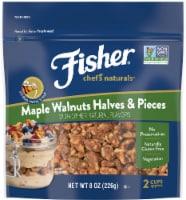 Fisher Chef's Naturals Maple Walnuts Halves & Pieces - 8 oz