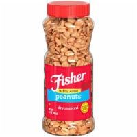 Fisher Dry Roasted Lightly Salted Peanuts
