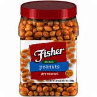 Fisher Dry Roasted Peanuts