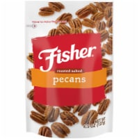 Fisher Roasted Salted Mammoth Pecans