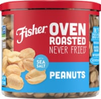 Fisher Oven Roasted Peanuts with Sea Salt