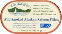 Bar Harbor Wild Smoked Alaskan Salmon Fillets - 6.7 oz
