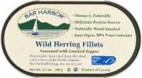 Bar Harbor Wild Herring Fillets with Cracked Pepper - 6.7 oz