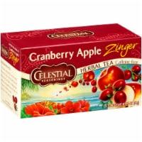 Celestial Seasonings Cranberry Apple Zinger Tea Bags 20 Count