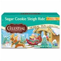Celestial Seasonings Sugar Cookie Sleigh Ride Tea Bags 20 Count