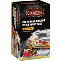 Celestial Seasonings Cinnamon Express Black Tea Bags 20 Count