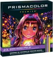 Prismacolor Premier Manga Colored Pencils 23/Pkg- - 1