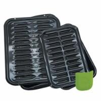 Range Kleen BP1026X Porcelain Broiler Plus Bake&Broil - 1