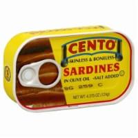 Cento Boneless Sardines - 4.38 oz