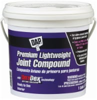 DAP® Premium Lightweight Joint Compound - Pink/White - 1 Gallon