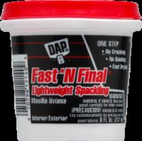 DAP Fast 'N Final Lightweight Spackling