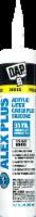DAP ALEX PLUS® Acrylic Latex Caulk Plus Silicone - Brilliant White - 10.1 oz
