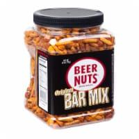 Beer Nuts Bar Mix - Petite Jar, 26 Ounce -- 12 per case.