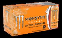Monster Ultra Sunrise Energy Drink