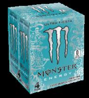 Monster Ultra Fiesta Energy Drink - 4 cans / 16 oz