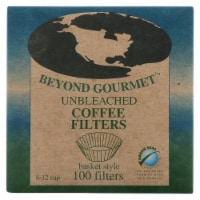 Beyond Gourmet Unbleached Basket Coffee Filters