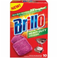 Brillo Heavy Duty Steel Wool Scouring Pad (10 Count) 23366