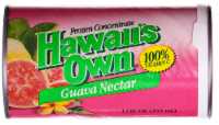 Hawaii's Own Guava Nectar Frozen Concentrate Juice Beverage