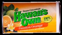 Hawaii's Own Passionfruit Orange Juice