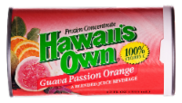 Hawaii's Own Guava Passion Orange Frozen Concentrate Blended Juice Beverage