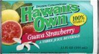 Hawaiians Own Guava Strawberry Juice