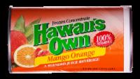 Hawaii's Own Mango Orange Frozen Concentrate Blended Juice Beverage