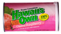Hawaii's Own Guava Raspberry Frozen Concentrate Juice Beverage