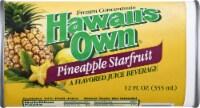 Hawaiians Own Pineapple Starfruit Juice