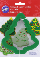 Wilton Comfort Grip Christmas Tree Cookie Cutter – Green - 1 Count