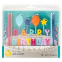 Holiday Home® Happy Birthday Bright Candle Set