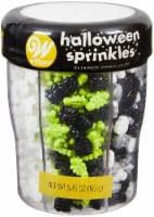 Sprinkle Mix-Halloween Shapes, 6 Cell - 1
