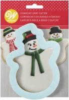 Comfort Grip Cookie Cutter-Snowman - 1