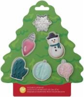 Mini Cookie Cutter Set 6/Pkg-Tree - 1