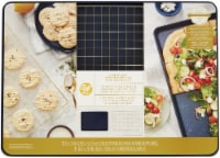 Mega Cookie With Grid -Navy Blue And Gold - 1