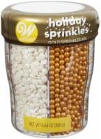 Sprinkle Mix-Gold/White, 6 Cell - 1