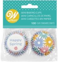 Mini Baking Cups-Spring 100/Pkg - 1