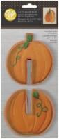 Metal Cookie Cutter Set 2/Pkg-3D Pumpkin - 1