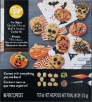 Wilton Skulls and Pumpkin Cookie Kit - 1 ct