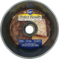 Wilton Perfect Results Angel Food Pan - Silver