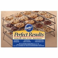Wilton Perfect Results 3-Tier Cooling Rack - Silver - 1 Count - 1 Count