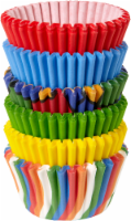 Wilton Mini Multi Colored Baking Cups - 150 ct