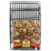 Wilton Recipe Right Non-Stick Cooling Grids - 3 pk - Black