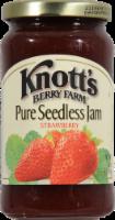 Knott's Berry Farm Pure Seedless Strawberry Jam - 16 oz